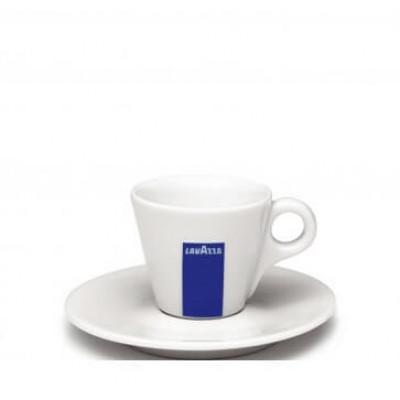 Set cesti si farfurii ceramica espresso Lavazza